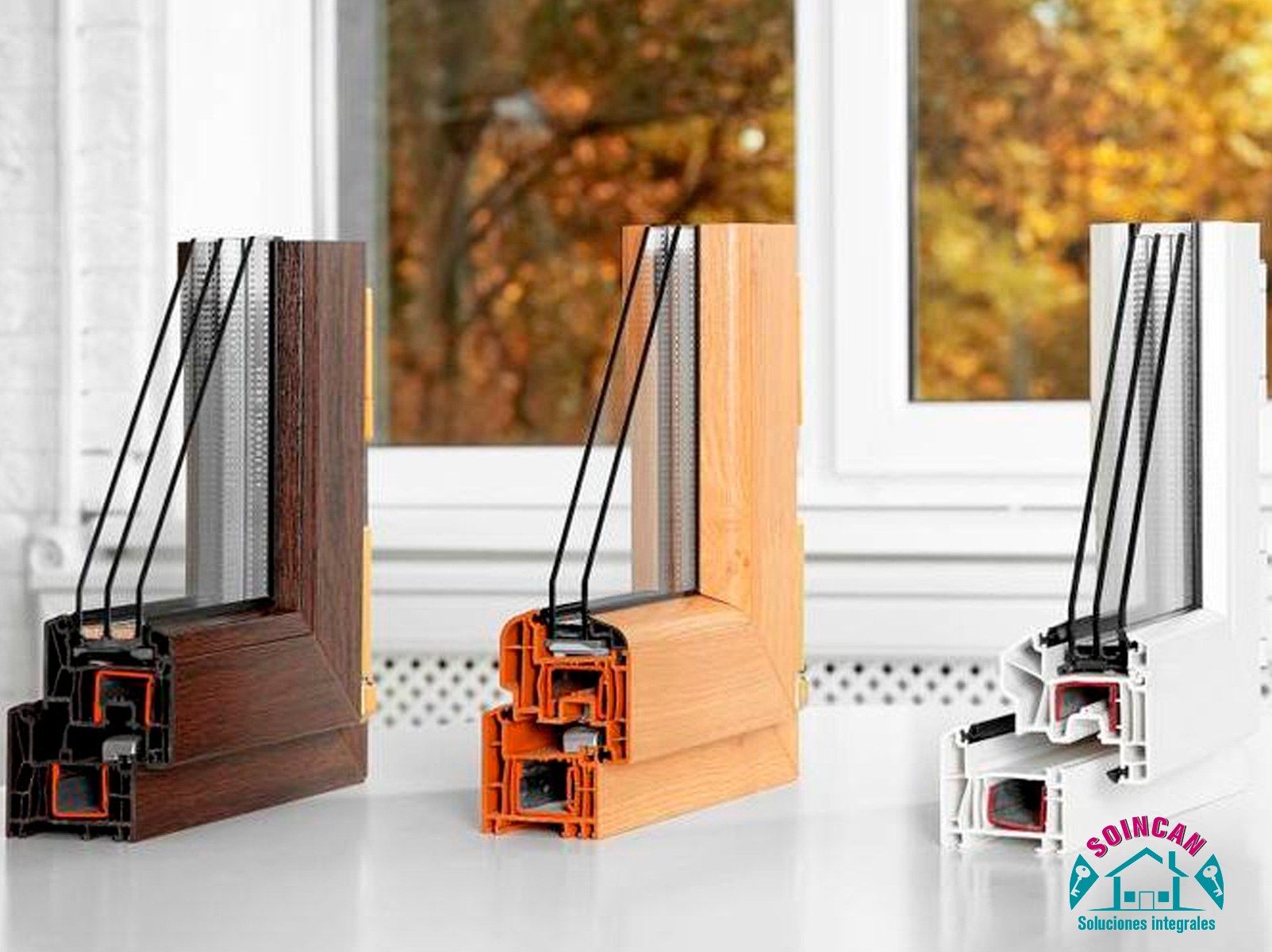 Cambio de cristales en ventanas y puertas de PVC
